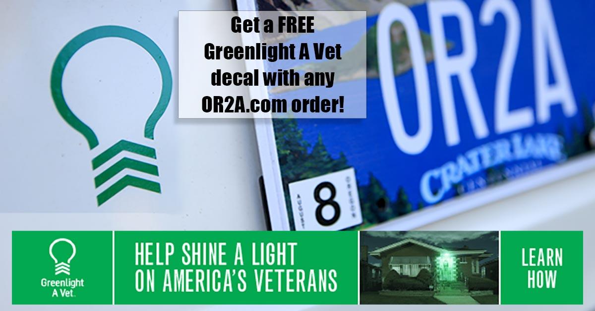 Free Greenlight A Vet Decals