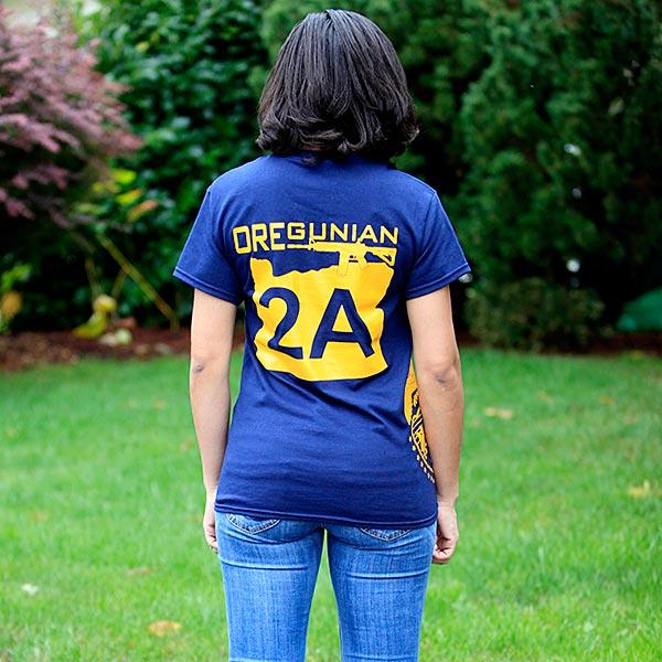 Oregun Shooters Oregunian 2A T-Shirt