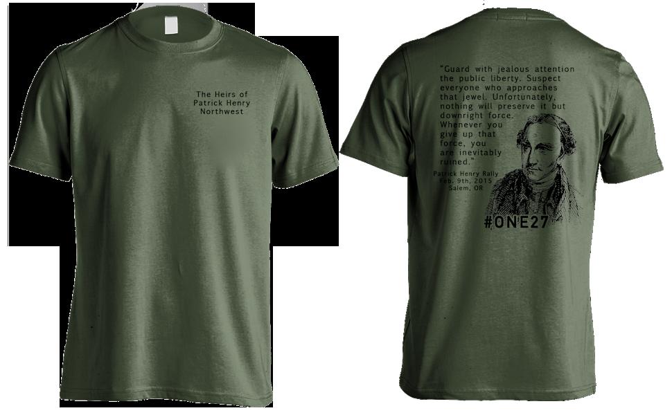 2015 Patrick Henry Rally T-Shirt
