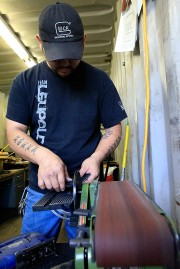 Ory-Gun Holster Company owner Ryan Rolen