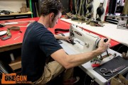 Snake Eater Tactical belt sewing Chris Calvert