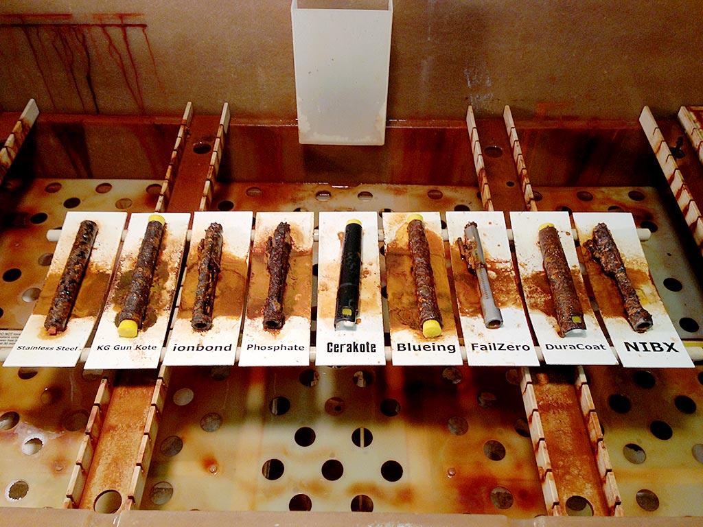 Cerakote Saltwater Corrosion Test